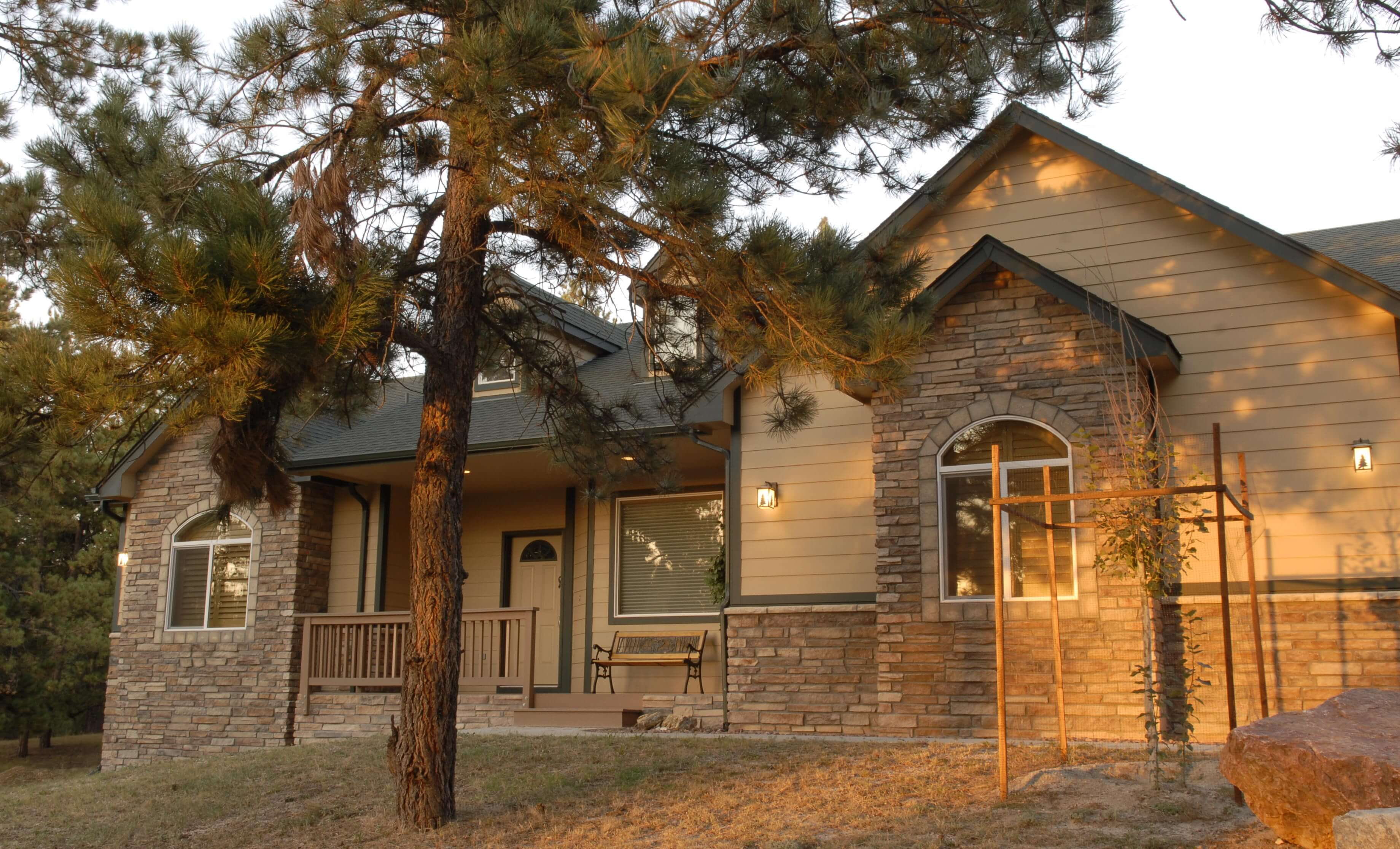 See an example of a house we built ask us about the price of your home buiding