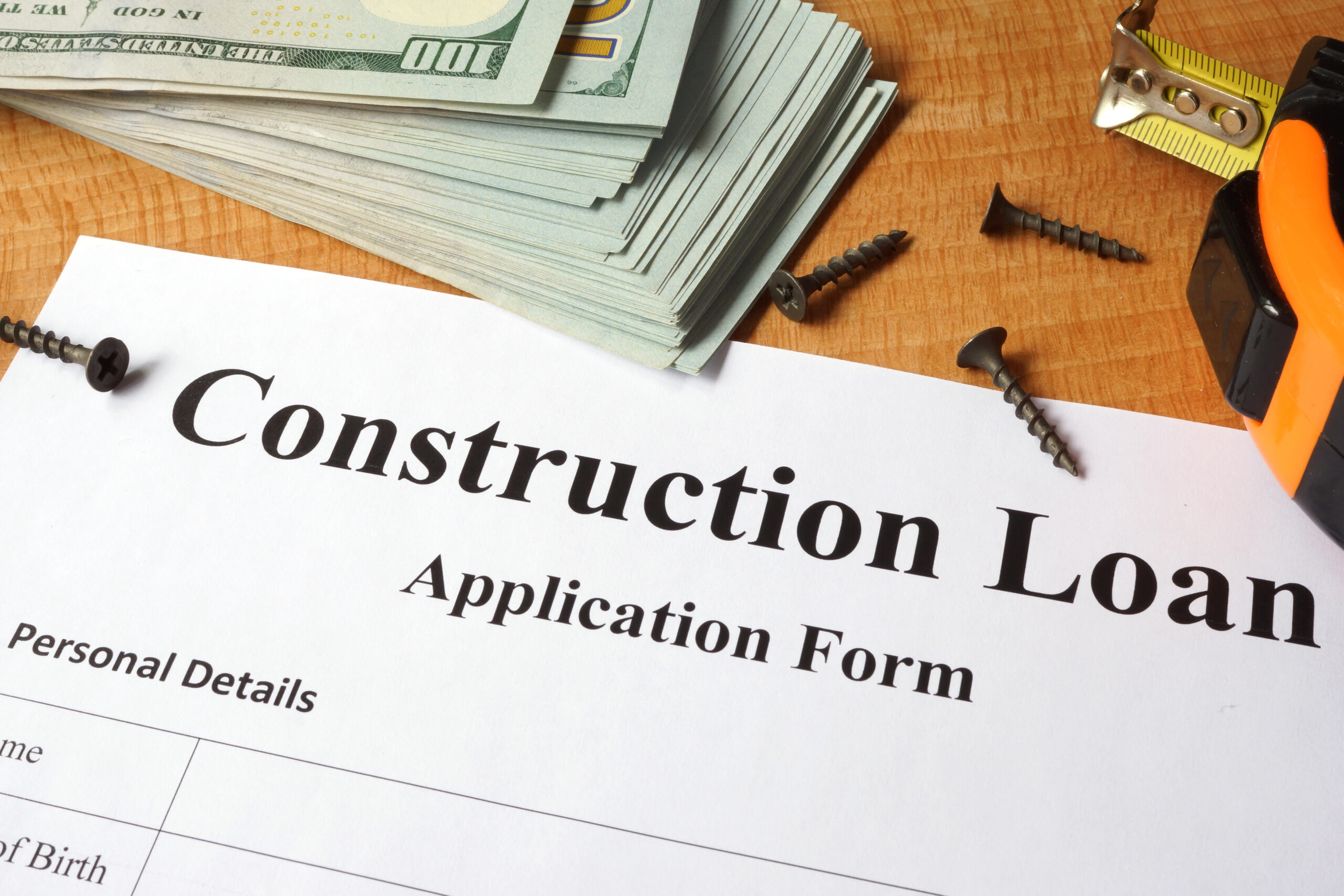 Loand document for construction projects and home building