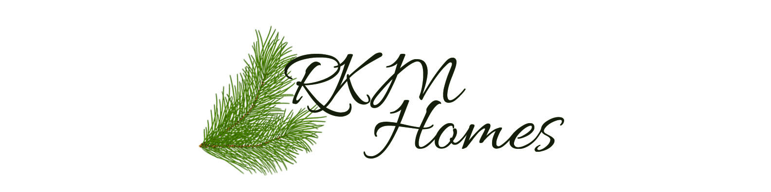 RKM Homes Logo with tree